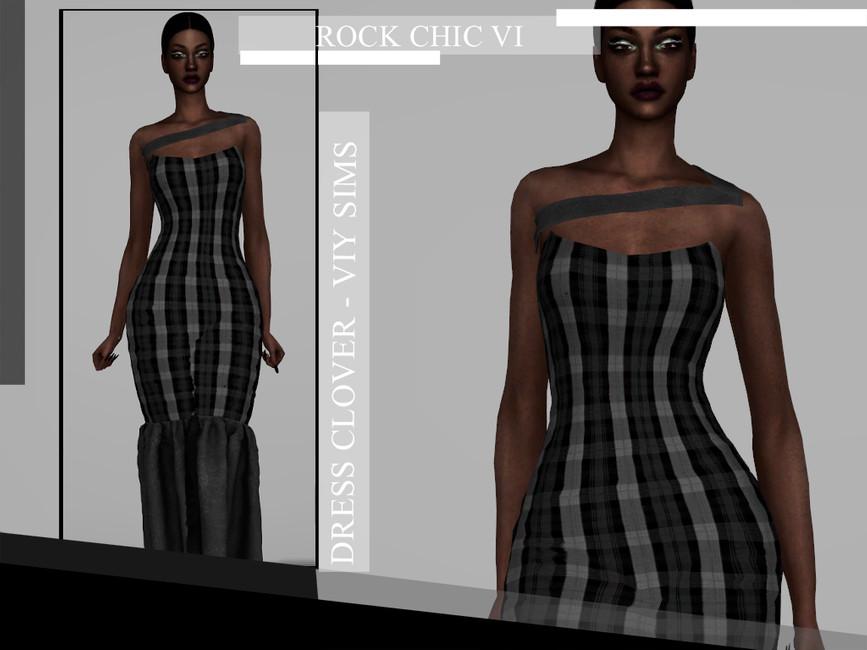 Viy Sims Rock Chic VI - Dress MARINA