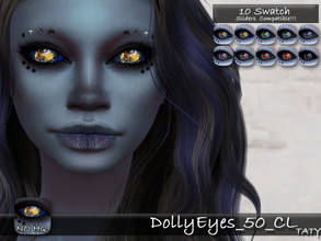 Sims 4 — [Ts4]Taty_DollyEyes_50_CL by tatygagg — - Female, Male - Human, Alien - Toddler to Elder - Hq Compatible -