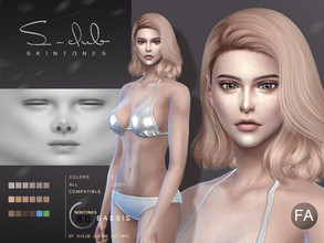 Sims 4 — S-Club ts4 WMLL BS 6.0 FA by S-Club — Skin overly, for female, version A, compatible all game original swatches,