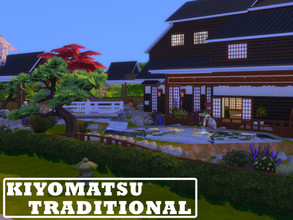 Sims 4 — Kiyomatsu Traditional by Niimua — A traditional Japanese home with some modern touches. Has a master bedroom and