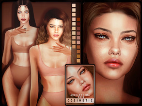 Sims 4 — COSIMETIC | Adriana Lima Skin by cosimetic — - You can only use it for female. - You can use it with 21 color