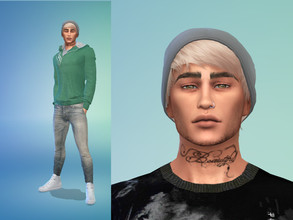 Sims 4 — Daniel Walsh by starafanka — DOWNLOAD EVERYTHING IF YOU WANT THE SIM TO BE THE SAME AS IN THE PICTURES NO