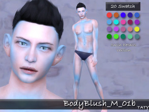 Sims 4 — [Ts4]Taty_BodyBlush_Male_01b by tatygagg — - Male - Human, Alien - Teen to Elder - Hq Compatible Attention : the