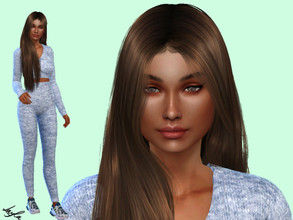 Sims 4 — Rachelle Santander by qLayla — Go to the tab Required to download the CC needed. You have to download everything