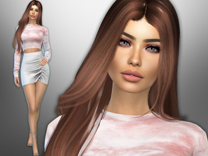 Sims 4 — Angelita Serrano by divaka45 — Go to the tab Required to download the CC needed. DOWNLOAD EVERYTHING IF YOU WANT