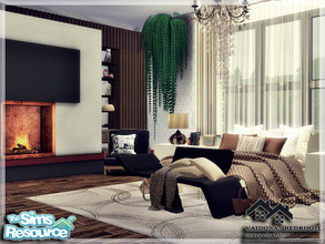 Sims 4 — VAIDONA - BEDROOM by marychabb — I present a room - Bedroom, that is fully equipped. Tested. Cost: 19,994 $