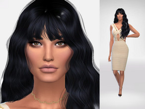 Sims 4 — Anamembui by Danielavlp — Download all CC's listed in the Required Tab to have the sim like in the pictures. No