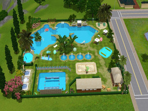 Sims 3 — Tropical Sun by RubyRed2020 — Jump into the cool water in hot temperatures. Your Sims will feel right at home in