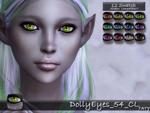 Sims 4 — [Ts4]Taty_DollyEyes_54_CL by tatygagg — - Female, Male - Human, Alien - Toddler to Elder - Hq Compatible -