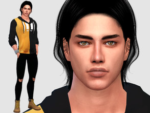 Sims 4 — Simon Creed by DarkWave14 — Download all CC's listed in the Required Tab to have the sim like in the pictures.