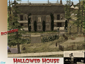 Sims 3 Haunted house by RamboRocky on DeviantArt