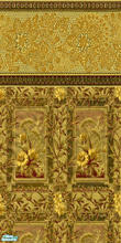 Sims 2 — Golden by Purpleto280 — Here is a older fashion wall paper, these kind of wallpapers were seen in the late