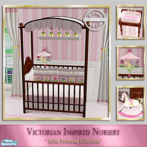 Cashcraft S Victorian Inspired Nursery Baby Crib