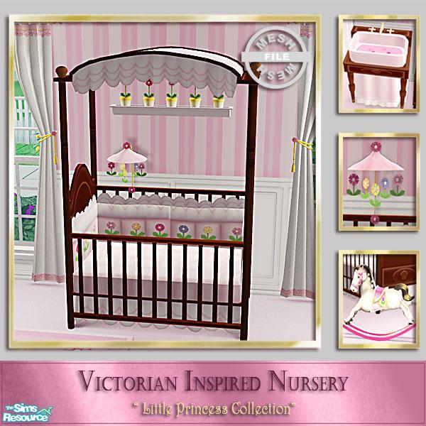 Cashcraft S Victorian Inspired Nursery Baby Crib