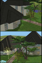 Sims 2 — Swanly Lakes by Lil-Kiki — This very unique design of a modern large home is great for a family, it has great