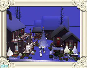Sims 2 — Christmas Shops by Pinecat — The perfect place for all your Christmas shopping whether it\'s the jewelry,