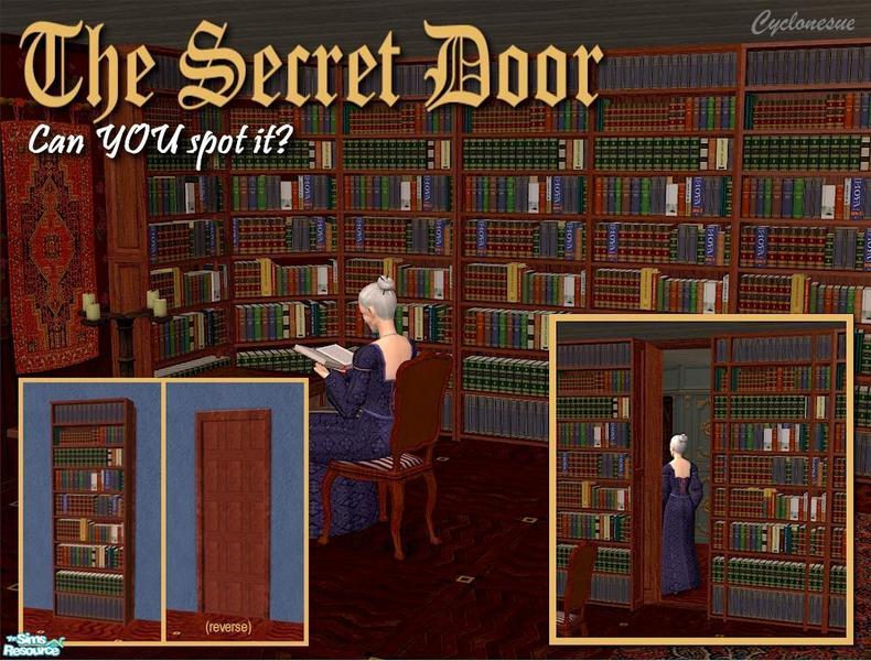 Cyclonesues Secret Bookcase Door 1 Tile