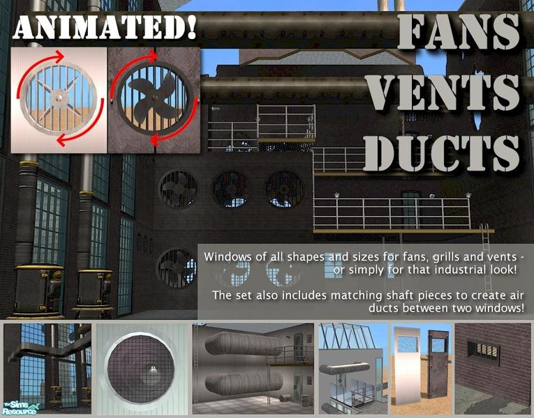 Cyclonesue S Animated Fans Vents And Air Ducts