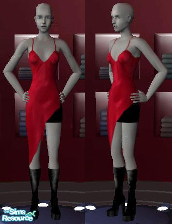 Belaraniel S Resident Evil Alice Red Dress