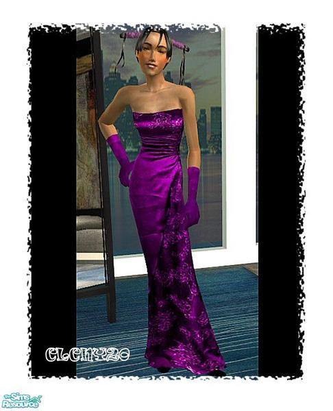 Teen Silk Dress