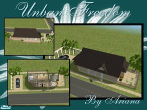 Sims 2 — Urban Freedom by Ariana31Player — A small house but, filled with luxury for a simple sim who has very nice