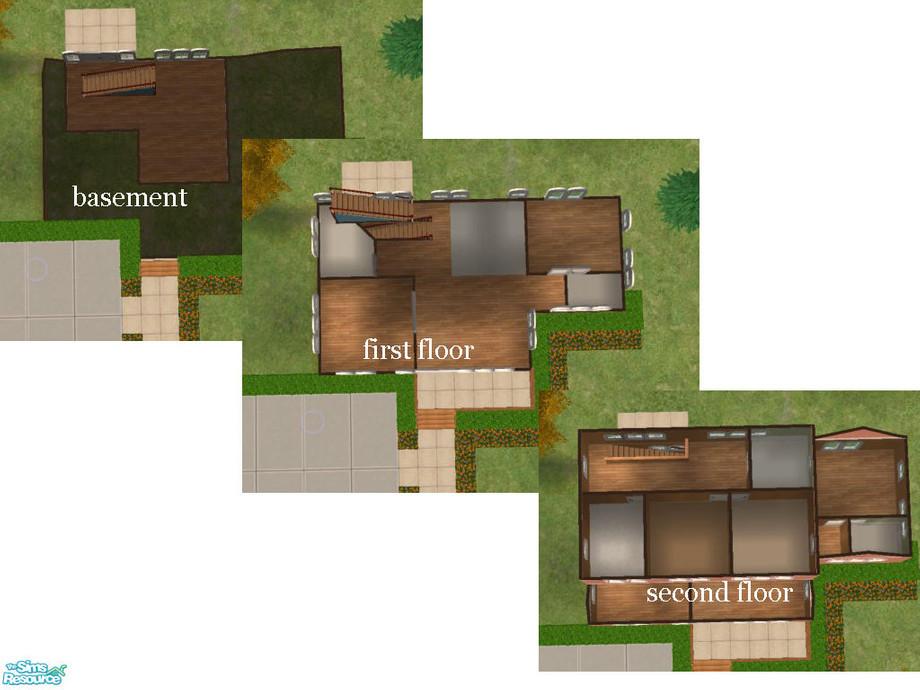 Working Walkout Basement, How To Make A Walkout Basement Sims 3