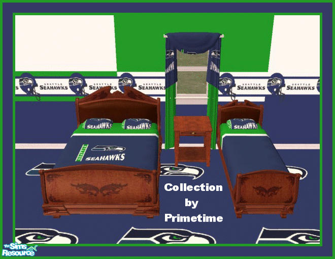 Primetime024\'s PT NFL Seattle Seahawks Bedroom