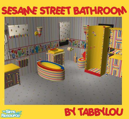Genial TL   Sesame Street Bathroom Set