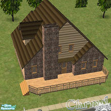 Sims 2 — Four Seasons Cabin by Chrmd — A charming 3 bedroomed family home with a basement waiting to be developed if you