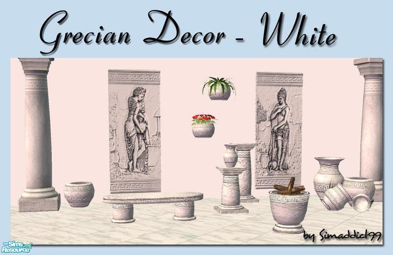 Simaddict99s Grecian Decor White