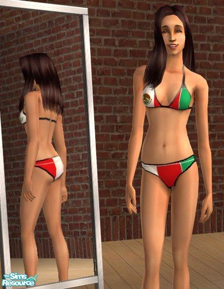 Mexican in bikini