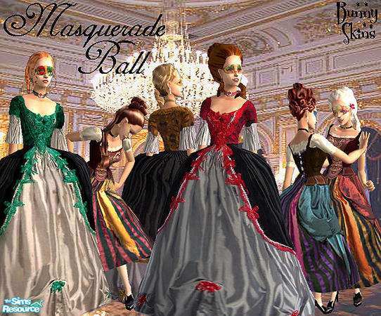 Bunny*\'s Masquerade Ball Gowns