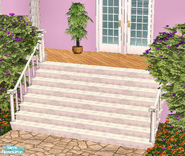 Sims 2 — High Society Stairs  by chrissy6930 — High Society Stairs MESH FILE. IMPORTANT: please read the INSTALLATION