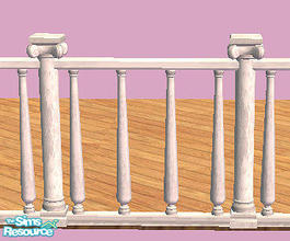 Sims 2 — High Society Fence in white by chrissy6930 — High Society Fence in white. Any expansion pack required to work.
