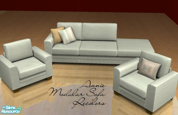 Froilan39s annie modular sofa recolors for Sectional sofa sims 3