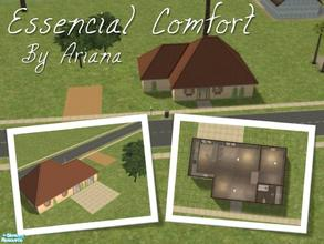 "Sims 2 — Essencial Comfort by Ariana31Player — This is my 3rd starter house from my ""Essencial\"" series. this"