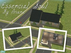 "Sims 2 — Essencial Soul by Ariana31Player — This is the my second starter house of my ""Essencial\"" series,"