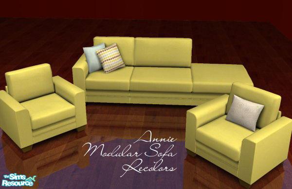 Froilan S Annie Modular Sofa Recolors