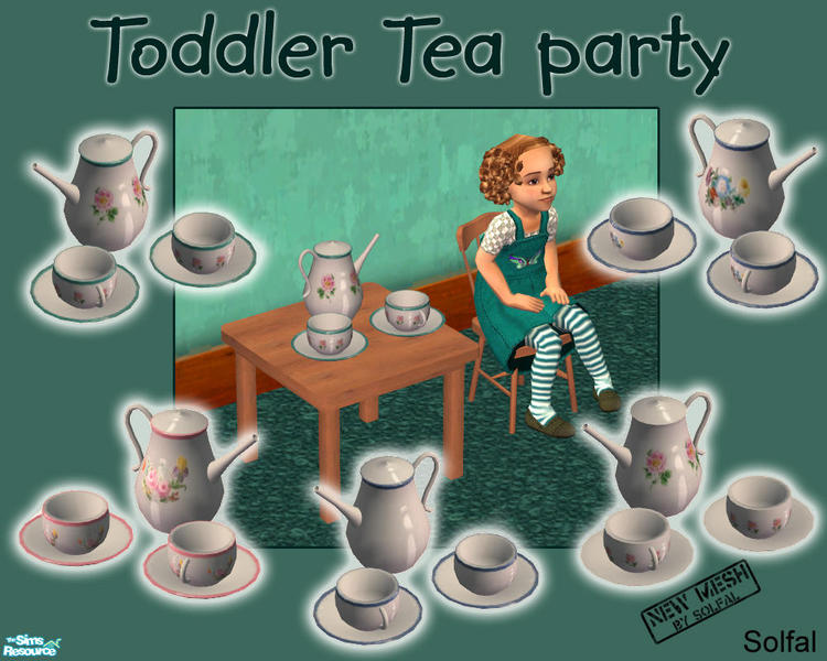 solfal\'s Toddler Tea Party