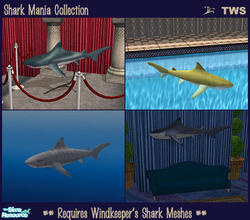 Sims 2 Downloads - 'shark'