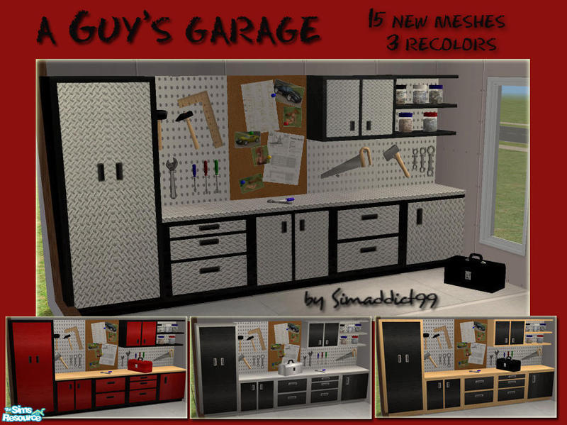 Simaddict99 S A Guy S Garage