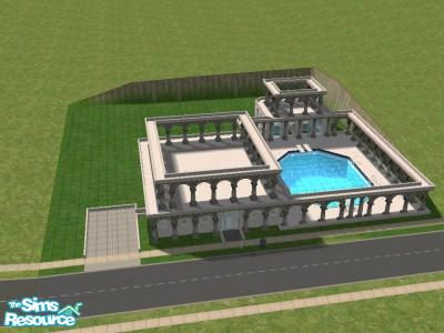 Roman Style House House Design Plans