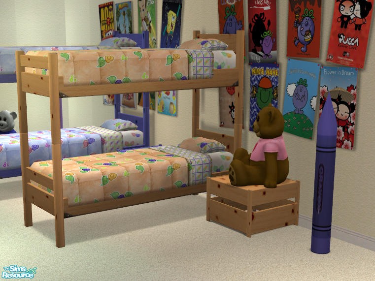 sims 2 bunk bed 2