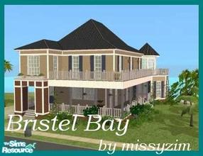 Sims 2 — Bristel Bay by missyzim — A beautiful beachside home with wrap around porch and balcony. Midnight Tile roof by