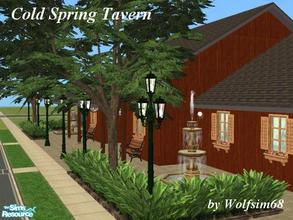 Sims 2 — Cold Spring Tavern by Wolfsim68 — If you\'re looking for a night out on the town, then the Tavern is the place
