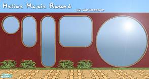 Sims 2 Sets Round Window