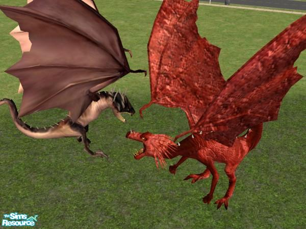 how to find a dragon sims 3