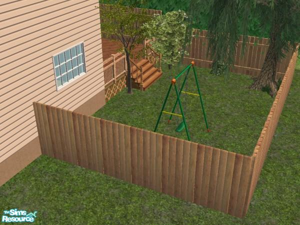 Exceptionnel Tall Backyard Wooden Fence