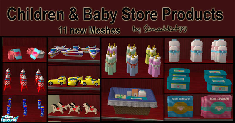 Simaddict99 S Toy Amp Baby Store Products