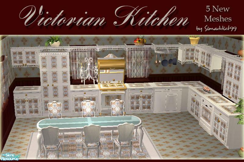 Simaddict99 S Victorian Kitchen